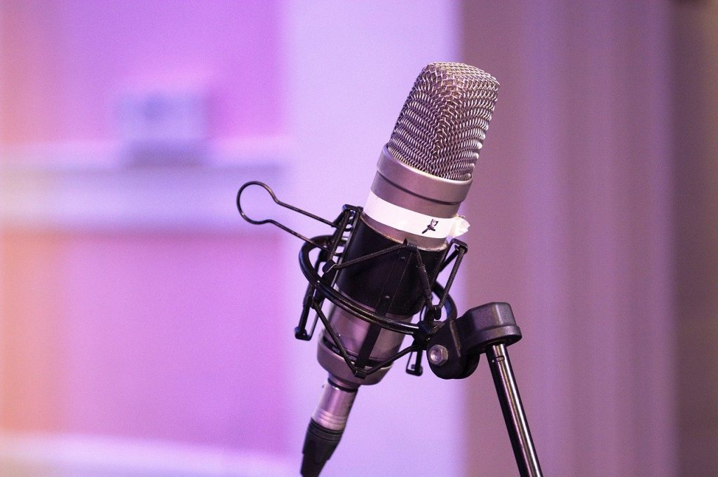 podcast, mic, equipment